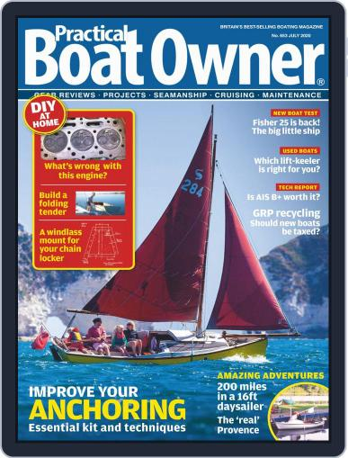 Practical Boat Owner (Digital) July 1st, 2020 Issue Cover
