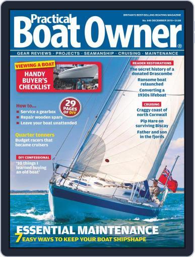 Practical Boat Owner (Digital) December 1st, 2019 Issue Cover