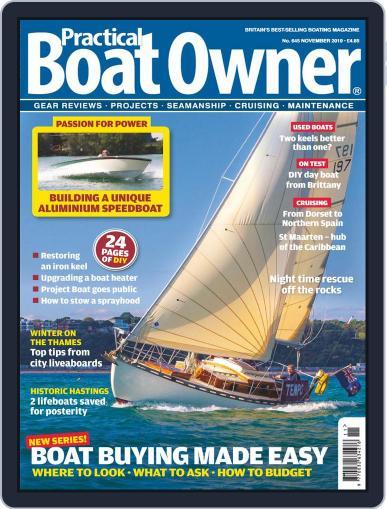 Practical Boat Owner (Digital) November 1st, 2019 Issue Cover