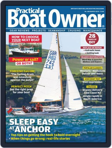 Practical Boat Owner (Digital) March 1st, 2019 Issue Cover