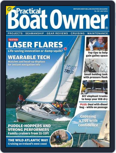 Practical Boat Owner (Digital) May 26th, 2016 Issue Cover