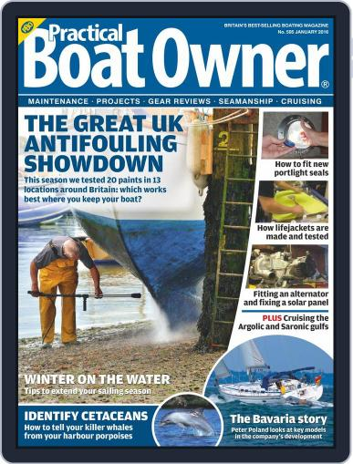 Practical Boat Owner (Digital) January 1st, 2016 Issue Cover