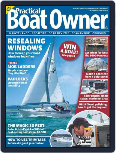 Practical Boat Owner (Digital) October 7th, 2015 Issue Cover