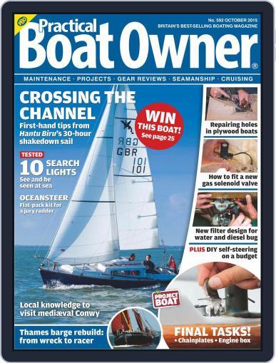 Practical Boat Owner (Digital) September 9th, 2015 Issue Cover