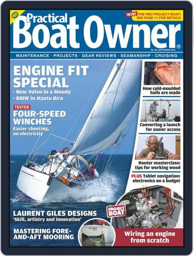 Practical Boat Owner (Digital) August 12th, 2015 Issue Cover