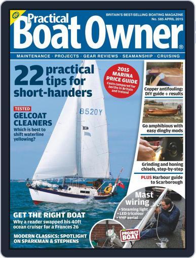 Practical Boat Owner (Digital) April 1st, 2015 Issue Cover