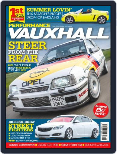 Performance Vauxhall August 1st, 2019 Digital Back Issue Cover