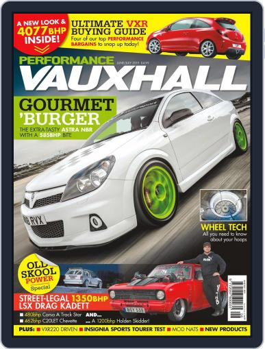 Performance Vauxhall June 1st, 2019 Digital Back Issue Cover