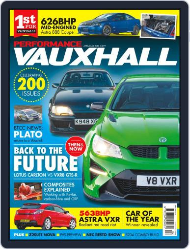 Performance Vauxhall April 1st, 2019 Digital Back Issue Cover