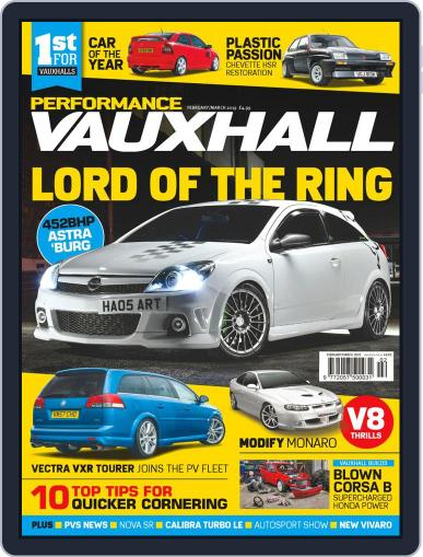 Performance Vauxhall February 1st, 2019 Digital Back Issue Cover