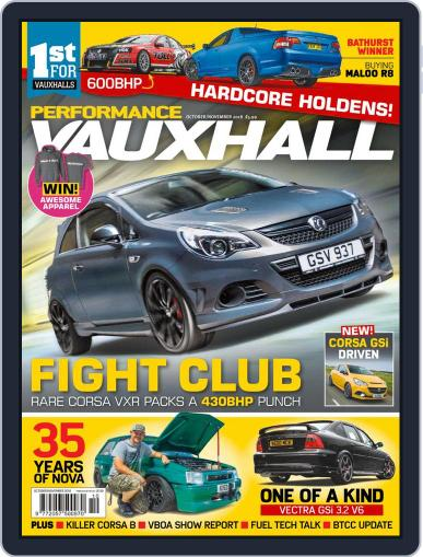 Performance Vauxhall October 1st, 2018 Digital Back Issue Cover