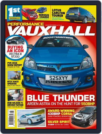 Performance Vauxhall August 1st, 2018 Digital Back Issue Cover