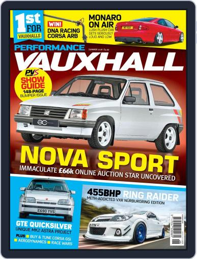 Performance Vauxhall June 26th, 2018 Digital Back Issue Cover