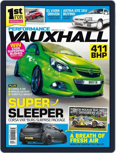 Performance Vauxhall April 1st, 2018 Digital Back Issue Cover