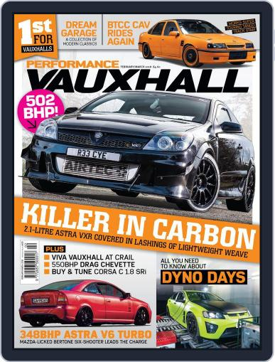 Performance Vauxhall February 1st, 2018 Digital Back Issue Cover