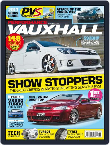 Performance Vauxhall August 1st, 2017 Digital Back Issue Cover