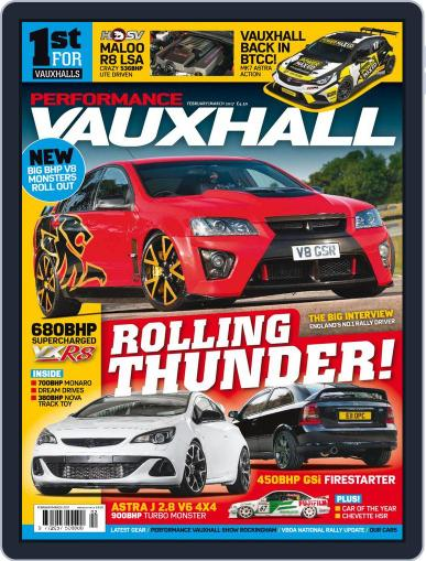 Performance Vauxhall February 1st, 2017 Digital Back Issue Cover