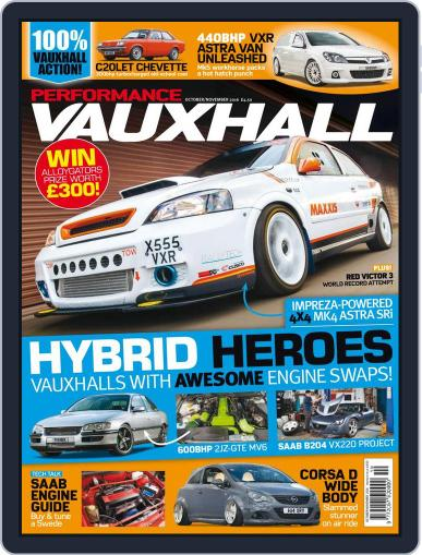 Performance Vauxhall October 1st, 2016 Digital Back Issue Cover
