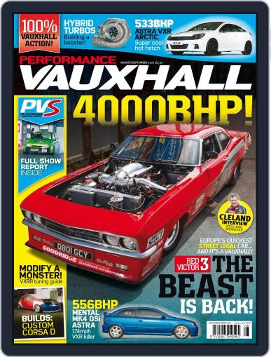 Performance Vauxhall August 1st, 2016 Digital Back Issue Cover
