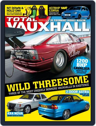 Performance Vauxhall October 24th, 2012 Digital Back Issue Cover