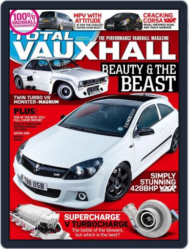 Performance Vauxhall September 26th, 2012 Digital Back Issue Cover