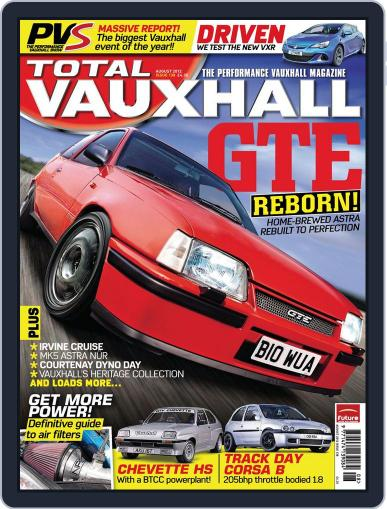 Performance Vauxhall July 8th, 2012 Digital Back Issue Cover