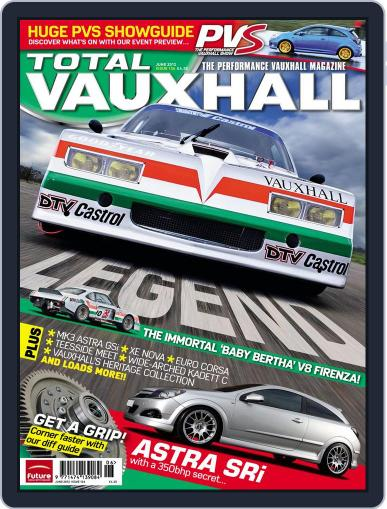 Performance Vauxhall May 13th, 2012 Digital Back Issue Cover