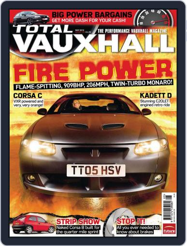 Performance Vauxhall April 15th, 2012 Digital Back Issue Cover