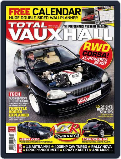Performance Vauxhall January 23rd, 2012 Digital Back Issue Cover