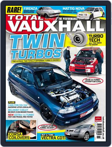 Performance Vauxhall October 20th, 2011 Digital Back Issue Cover