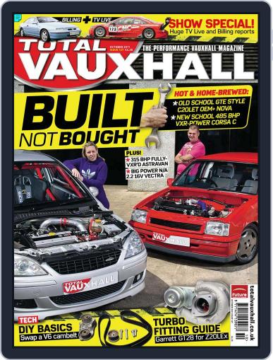 Performance Vauxhall October 1st, 2011 Digital Back Issue Cover