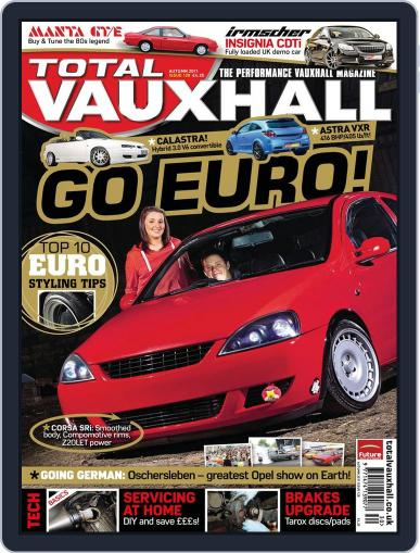 Performance Vauxhall September 22nd, 2011 Digital Back Issue Cover