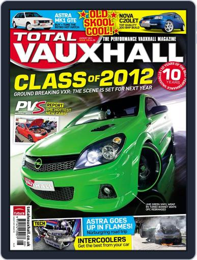Performance Vauxhall August 1st, 2011 Digital Back Issue Cover