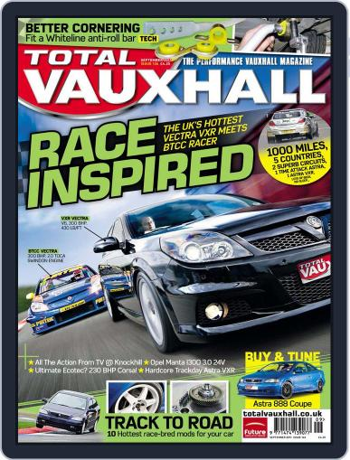 Performance Vauxhall July 28th, 2011 Digital Back Issue Cover