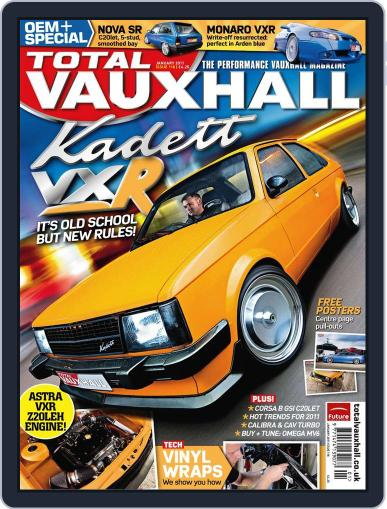 Performance Vauxhall January 1st, 2011 Digital Back Issue Cover