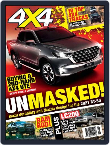 4x4 Magazine Australia July 1st, 2020 Digital Back Issue Cover