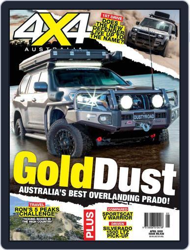 4x4 Magazine Australia April 1st, 2020 Digital Back Issue Cover