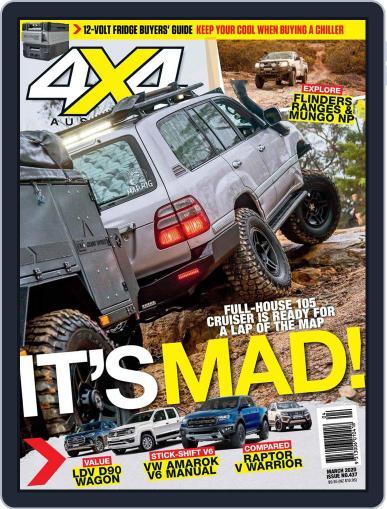 4x4 Magazine Australia March 1st, 2020 Digital Back Issue Cover