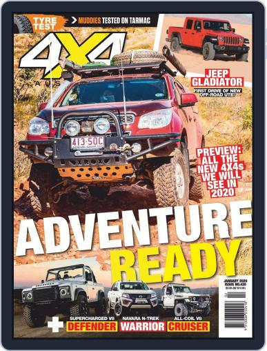 4x4 Magazine Australia January 1st, 2020 Digital Back Issue Cover