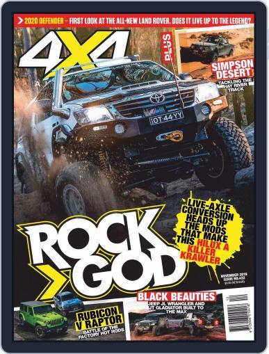 4x4 Magazine Australia November 1st, 2019 Digital Back Issue Cover