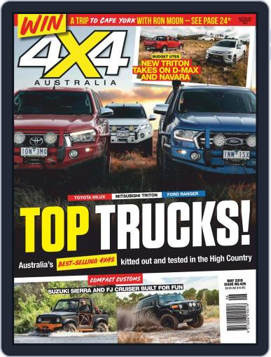 4x4 Magazine Australia May 1st, 2019 Digital Back Issue Cover