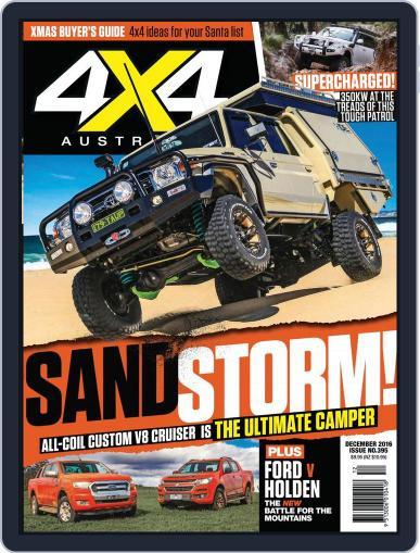 4x4 Magazine Australia December 1st, 2016 Digital Back Issue Cover