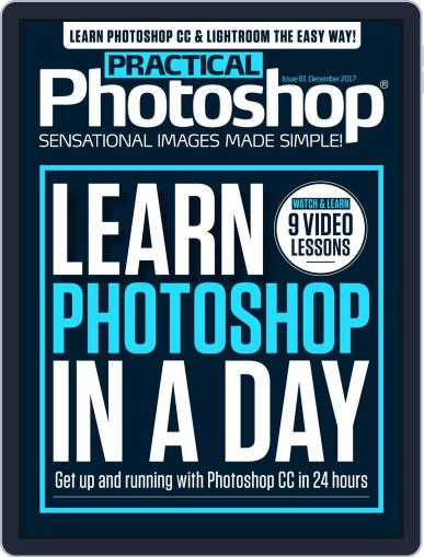 Practical Photoshop (Digital) November 28th, 2017 Issue Cover