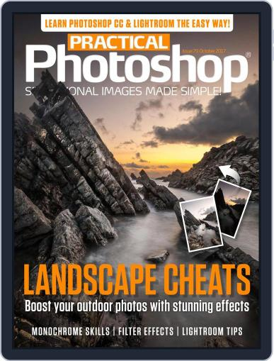 Practical Photoshop (Digital) October 1st, 2017 Issue Cover