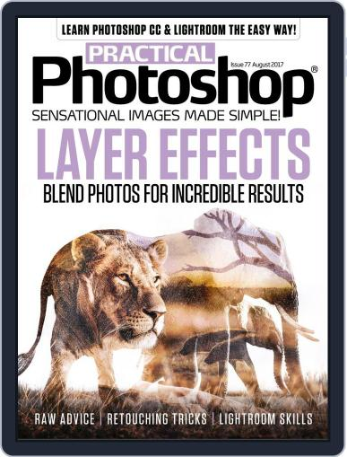 Practical Photoshop (Digital) August 1st, 2017 Issue Cover