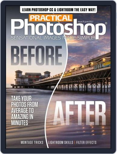 Practical Photoshop (Digital) June 1st, 2017 Issue Cover