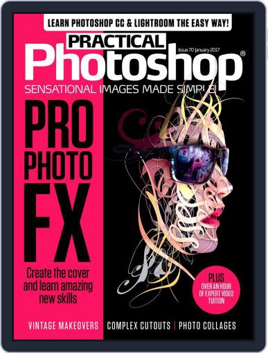 Practical Photoshop (Digital) January 1st, 2017 Issue Cover