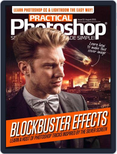 Practical Photoshop (Digital) July 27th, 2015 Issue Cover