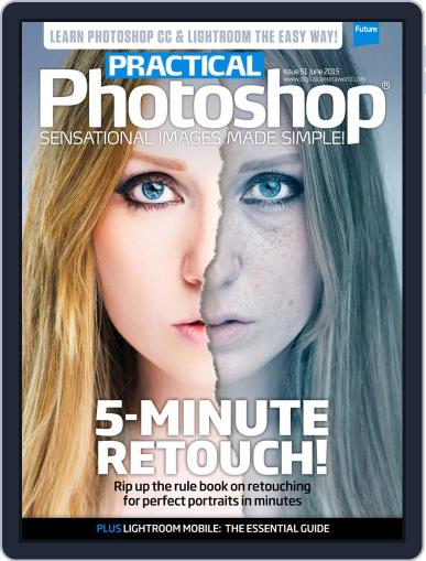Practical Photoshop (Digital) May 1st, 2015 Issue Cover