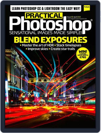 Practical Photoshop (Digital) March 29th, 2015 Issue Cover